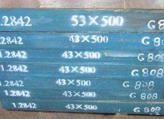 Werkstoff 1.2842 Datenblatt 90MnCrV8 Stahl